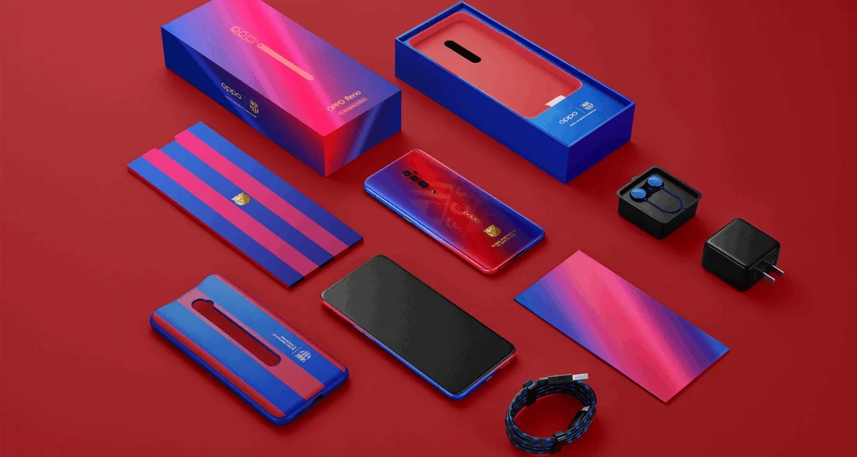 Oppo Reno FC Barcelona Edition announced: Price, Specs