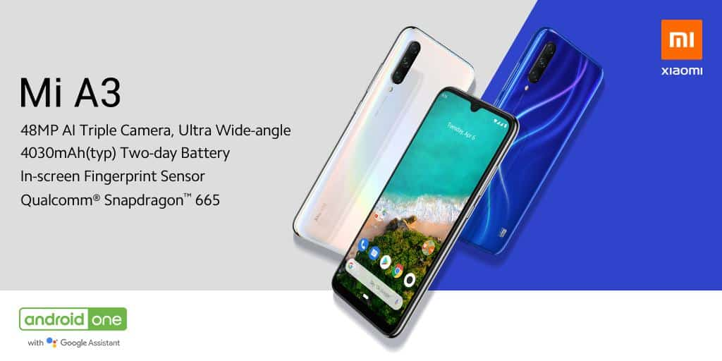 Xiaomi Mi A3 India launch soon: Official Specs & Features
