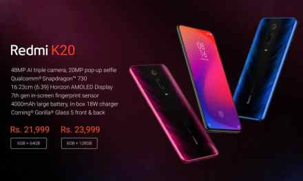 Redmi K20 launched, price in India starts from Rs. 21,999: Full Specs & Alpha sale details