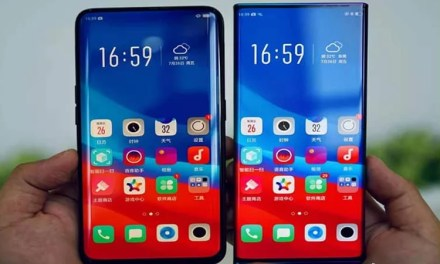 Oppo shows Waterfall display mobile: No buttons & Extremely Curved display