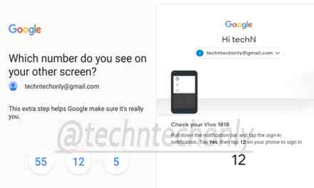 Google Two Step verification added with new additional layer of security