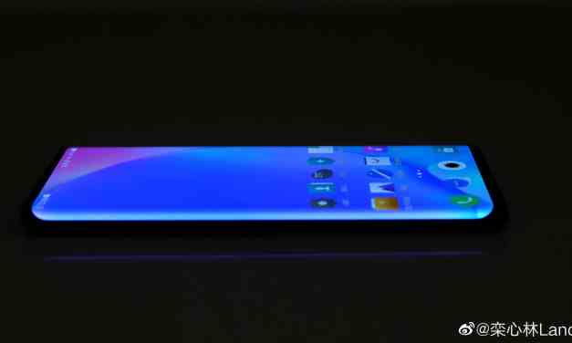 VIVO NEX 3 Live images confirmed with waterfall screen display