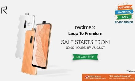 Realme X master edition sale starts on 8th August: Price, Specs