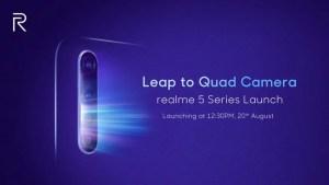 Realme 5 series launch