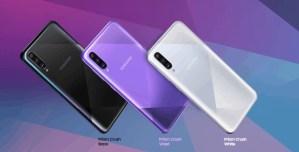 Galaxy A50s colors