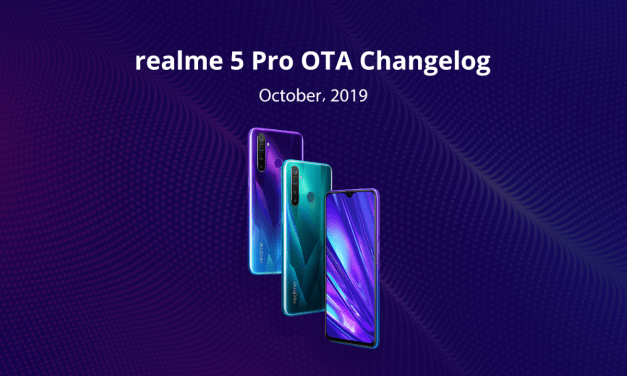 Realme 5 Pro October OTA update rolled out: Dark mode, wide-angle shooting feature