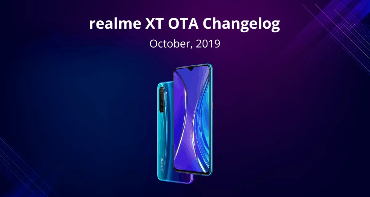 Realme XT October OTA update rolls out: Dark mode enabled & improved Camera features