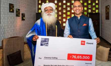 Xiaomi India plant 1.8 Lakh trees towards Cauvery Calling