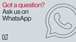 OnePlus WhatsApp Support