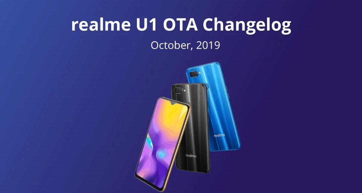 Realme U1 October update brings Dark mode, App Clone, Google Digital wellbeing & more