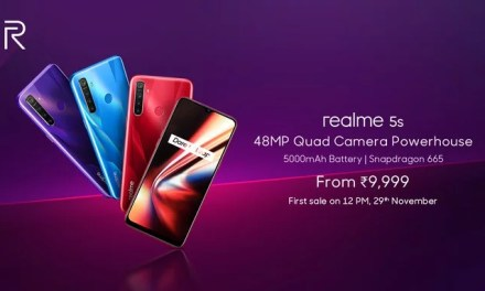 Realme 5s launched, price starts at Rs. 9,999: Full Specs