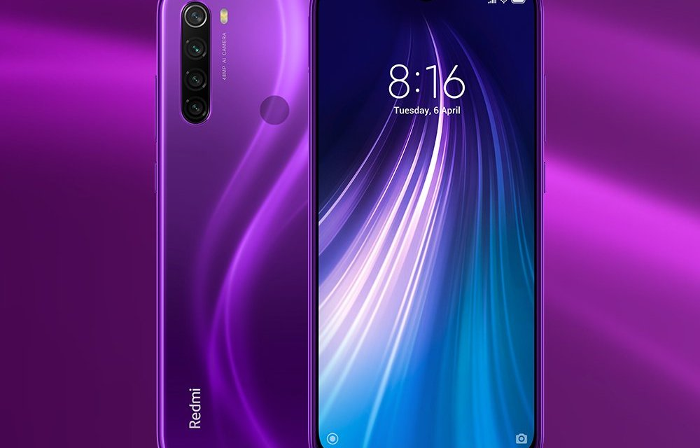 Redmi Note 8 Cosmic Purple Color varaint launched: First sale on 29th Nov