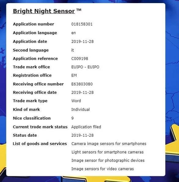 Bright night sensor