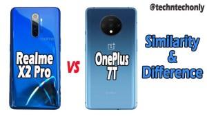 Realme X2 Pro vs OnePlus 7T