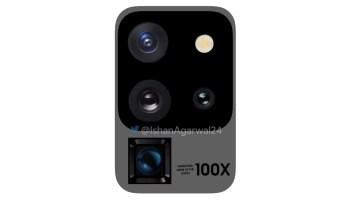 Galaxy S20 ultra 5G camera setup