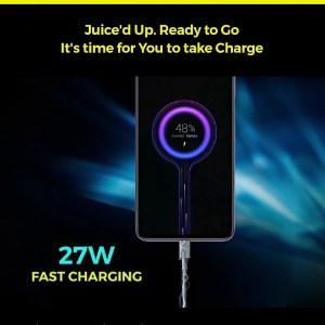 Poco x2 27w turbo charging
