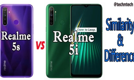 Realme 5i VS Realme 5s Similarity & Difference: Which is Best?