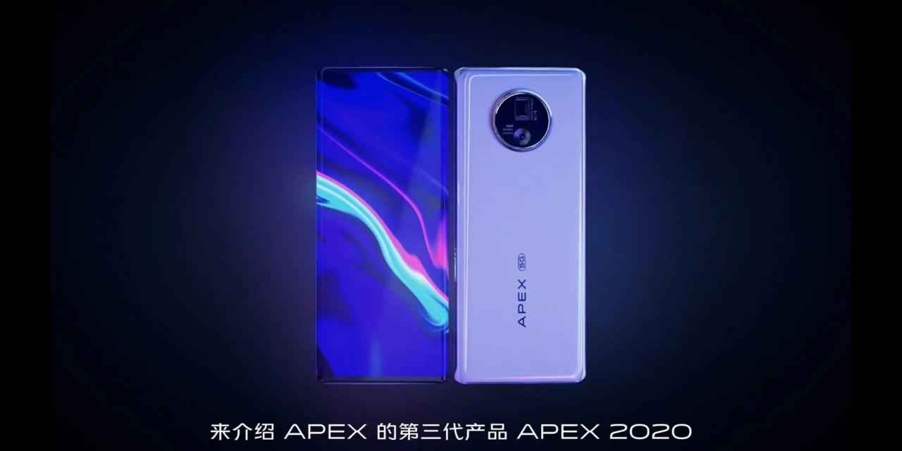 VIVO APEX 2020 Concept Phone – First Under Display Camera phone