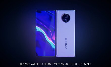 VIVO APEX 2020 Concept Phone – First Under Display Camera phone