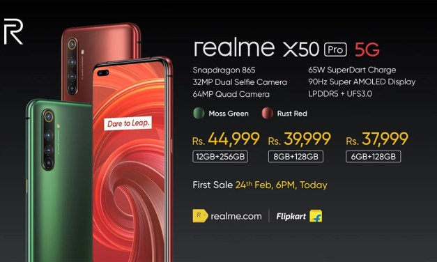 Realme X50 Pro 5G Price, Specs & Features – 12GB LPDDR5 RAM & 256GB UFS 3.0 ROM