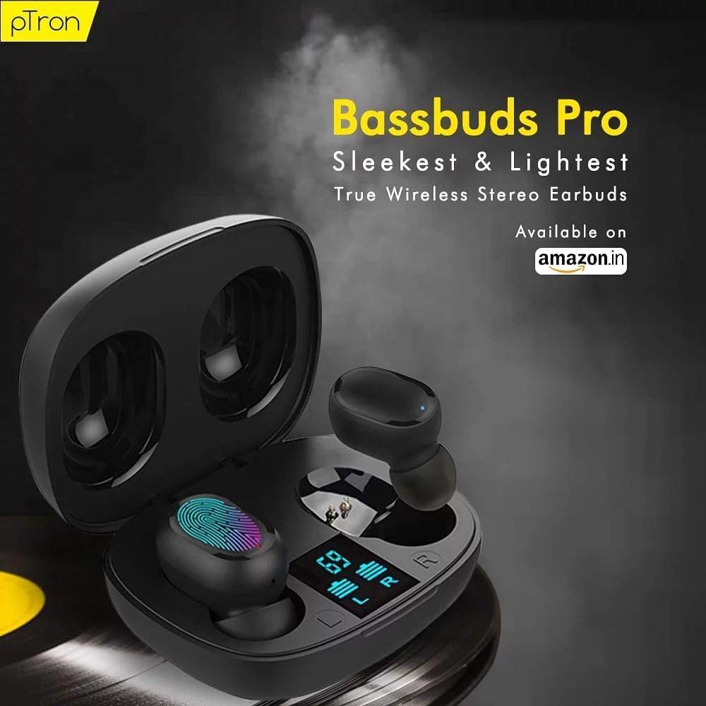 Ptron bassbuds pro price