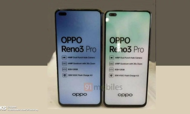 Oppo Reno 3 Pro Live images confirms 20x Zoom, 30W fast charging