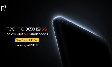 Realme X50 Pro launching in India on 24th February – Snapdragon 865 processor, 65W SuperDART Charge