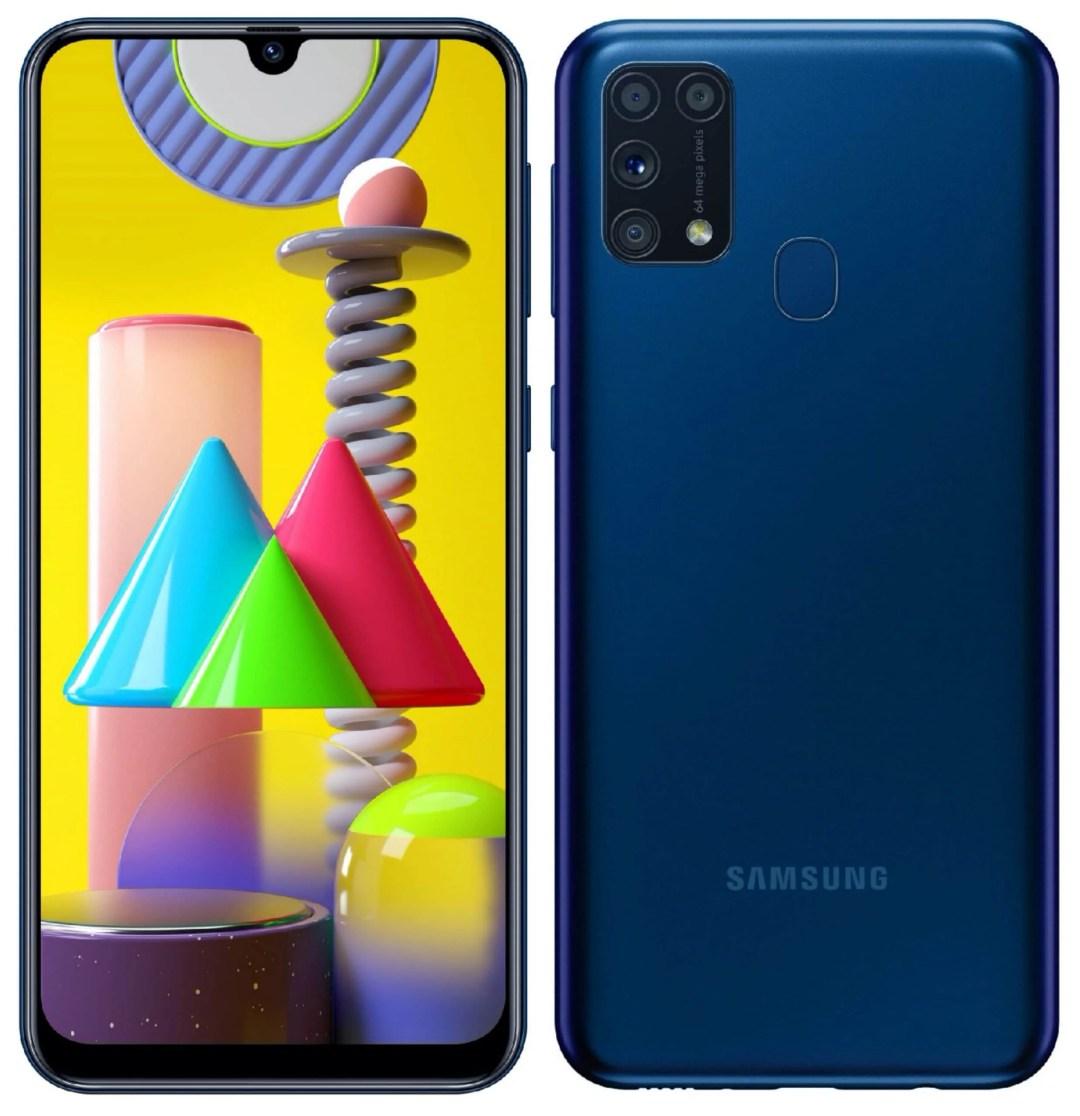Galaxy M31 colors