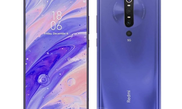 This is how Redmi K30 Pro will looks like – Dual Pop-Up Selfie