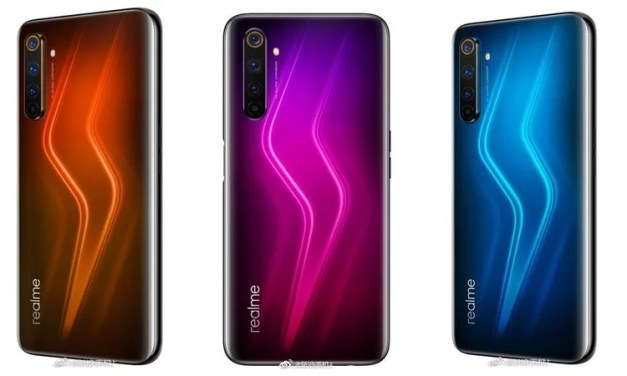 Realme 6 Pro Render Designs – Side-mount Fingerprint scanner