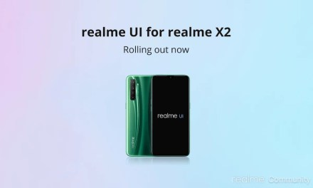 Realme X2 Realme UI update started to rollout