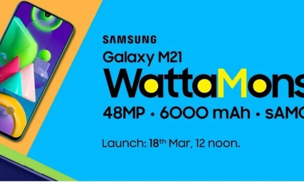 Samsung Galaxy M21 launch postponed to 18th March