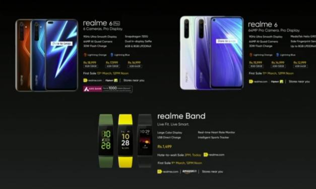 Realme 6 & Realme 6 Pro Price details