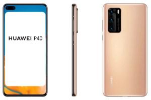 Huawei P40 colours