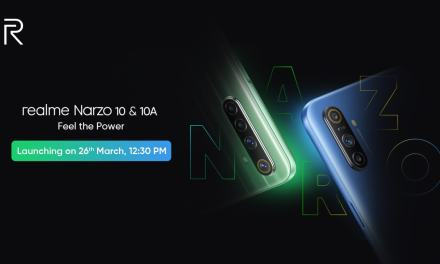 Realme Narzo 10 & 10A launching on 26th March