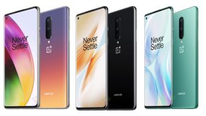 OnePlus 8 color variants