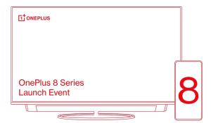 oneplus 8 series launch event