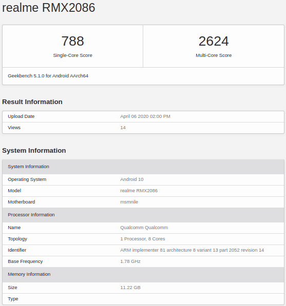 Realme X3 Super Zoom model spotted on Geekbench & NBTC. Realme X3 Super Zoom might come with 108MP camera, Snapdragon 855+ processor, 12GB RAM & Android 10