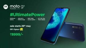 motorola g8 power lite launch, price