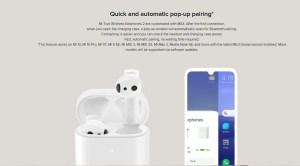 Mi Wireless earphones features