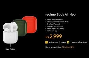 Realme Buds Air Neo Price