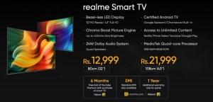 Realme Smart TV Price