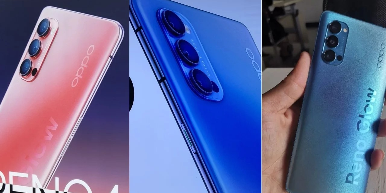 Oppo Reno 4 first look poster reveals – Hands-On images