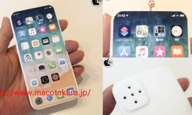 Apple iPhone 2021 proto type design reveals – Under display Camera & USB – C
