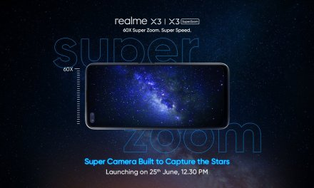 Realme X3 Super Zoom launch in India on 25th June – Specs & Features