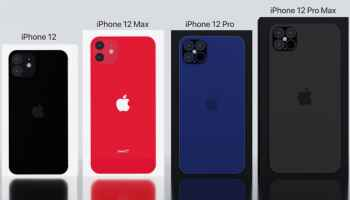 iPhone 12 series display size