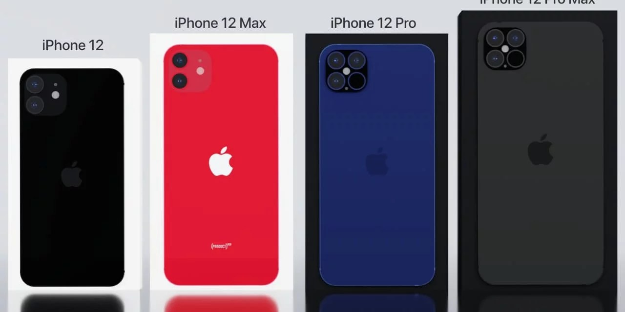 iPhone 12 series Display Size leaked for all 4 models