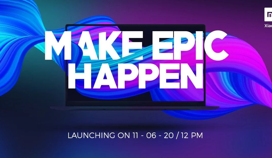 Mi Laptop launching in India on 11th June