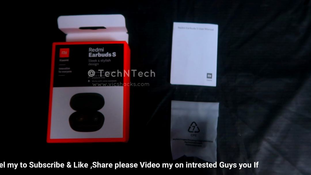 redmi earbuds s unboxing