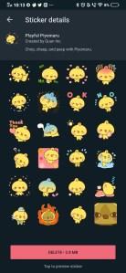 Whatsapp animated stickers pack